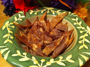 Cinnamon sugar chips