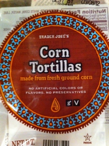 TJ corn tortillas