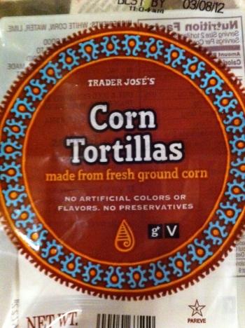 TJ corn tortillas